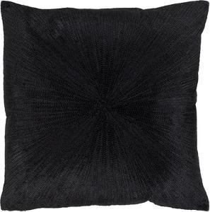 Jena Pillow Cover - Jet
