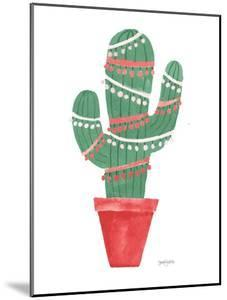 A Very Cactus Christmas II Dark Green by Jenaya Jackson