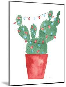 A Very Cactus Christmas III Dark Green by Jenaya Jackson