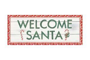 Welcome Christmas Sign II by Jenaya Jackson