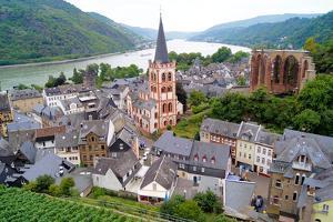 Rhine River Village by Jeni Foto