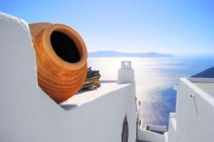 Santorini Views, Greece by Jeni Foto