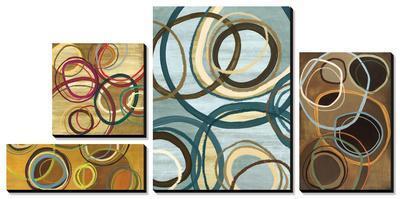 Circle Abstract by Jeni Lee