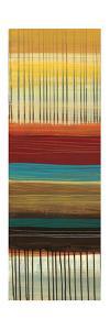 Drips & Stripes Panel I by Jeni Lee