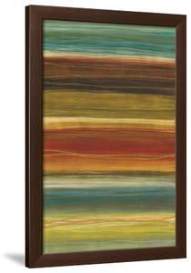 Organic Layers II - Stripes, Layers by Jeni Lee