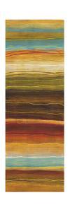 Organic Layers Panel I - Stripes, Layers by Jeni Lee