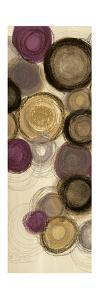 Purple Whimsy Panel I Circles by Jeni Lee
