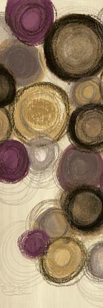 Purple Whimsy Panel I
