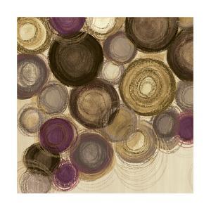Purple Whimsy Sq II by Jeni Lee