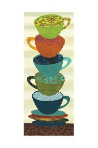 Stacking Cups I by Jeni Lee