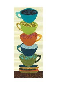 Stacking Cups II by Jeni Lee