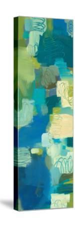 Turquoise Twist Panel II by Jeni Lee