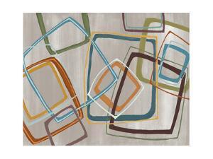 Twenty Tuesday IV Silver Squares by Jeni Lee
