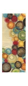 Wednesday Whimsy I - mini - Abstract Colorful Circles by Jeni Lee