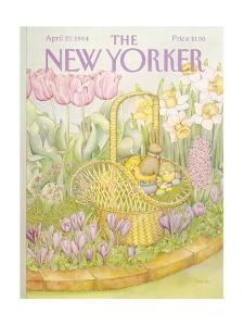 The New Yorker Cover - April 23, 1984 by Jenni Oliver