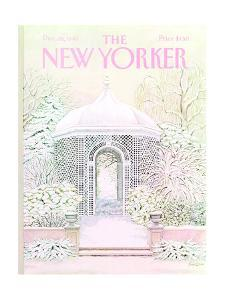 The New Yorker Cover - December 26, 1983 by Jenni Oliver