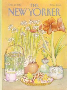 The New Yorker Cover - December 27, 1982 by Jenni Oliver