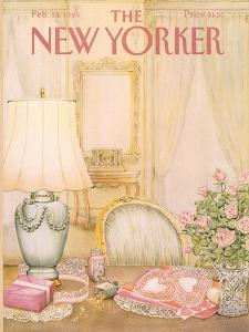 The New Yorker Cover - February 18, 1985 by Jenni Oliver