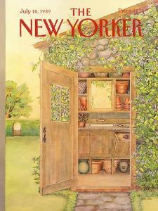 The New Yorker Cover - July 10, 1989 by Jenni Oliver