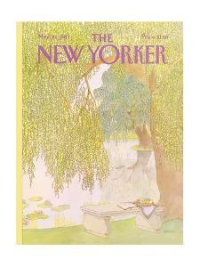 The New Yorker Cover - May 30, 1983 by Jenni Oliver
