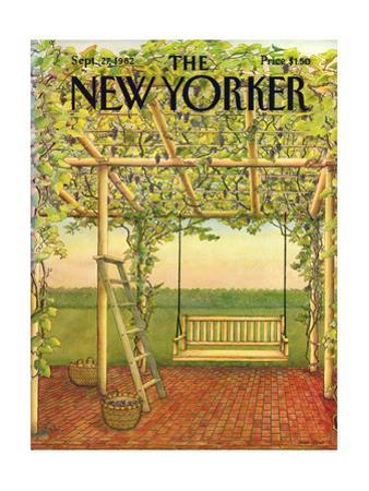 The New Yorker Cover - September 27, 1982 by Jenni Oliver