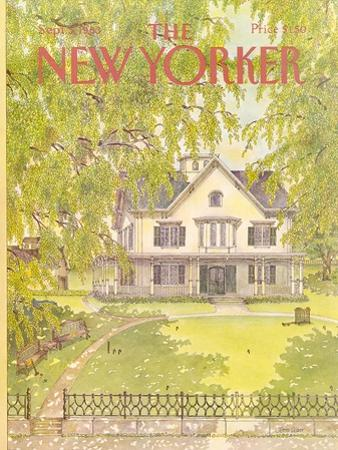 The New Yorker Cover - September 5, 1983 by Jenni Oliver