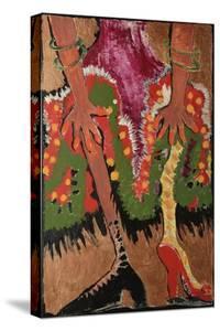 Fridas Legs Gold by Jennie Cooley