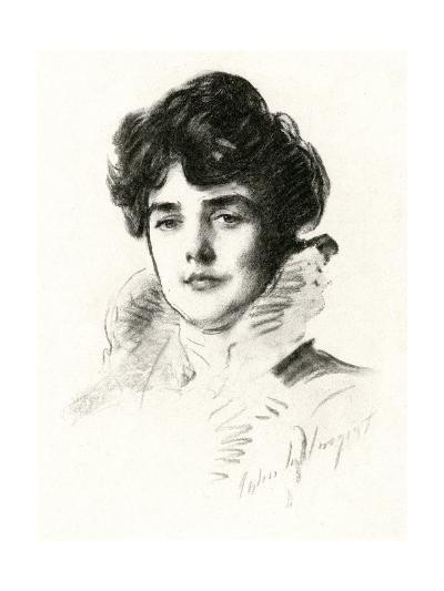 Jennie, Lady Churchill--Giclee Print