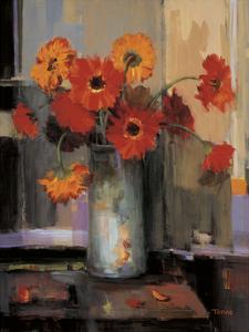 Floral Sunset by Jennie Tomao-Bragg