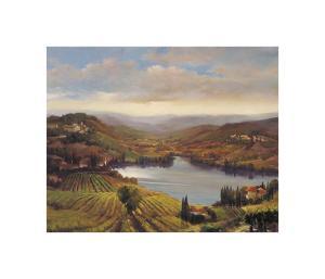 Vineyard View I by Jennie Tomao-Bragg