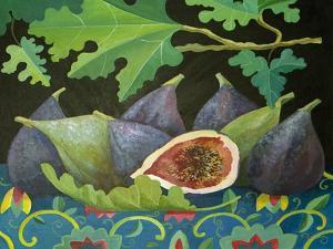 Figs on Black, 2014 by Jennifer Abbott