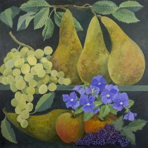 Pears and Grapes by Jennifer Abbott