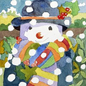 Snowman in Snow, 2011 by Jennifer Abbott