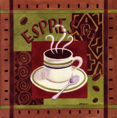 Cafe Exotica I by Jennifer Brinley
