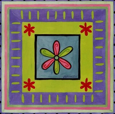 Flower Power II by Jennifer Brinley