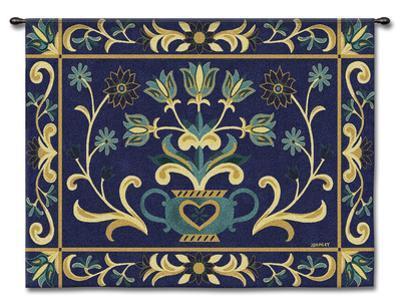 Heritage Floral Blue