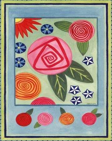 Mod Flower 3 by Jennifer Brinley