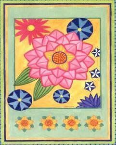 Mod Flower 4 by Jennifer Brinley