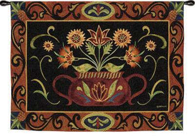 Potted Folk Floral