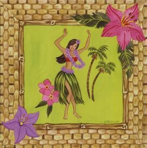 Tiki Girl I by Jennifer Brinley