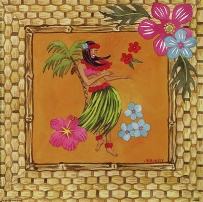 Tiki Girl II by Jennifer Brinley