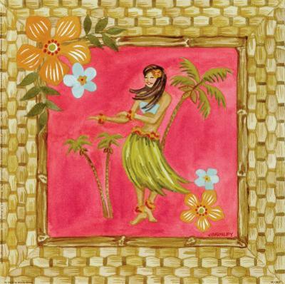 Tiki Girl IV by Jennifer Brinley
