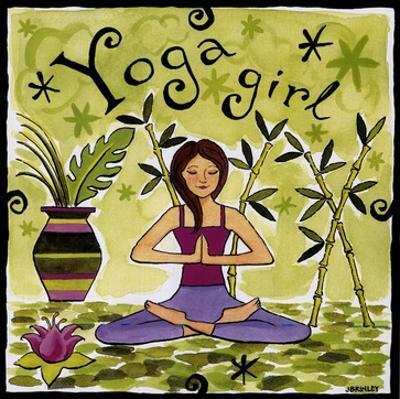 Yoga Girl by Jennifer Brinley