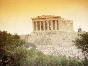 View of the Parthenon, Athens, Greece by Jennifer Broadus