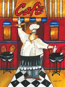 Chef at Café by Jennifer Garant