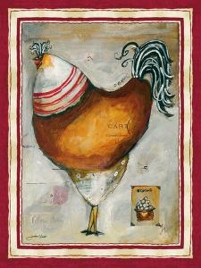 French Rooster IV by Jennifer Garant
