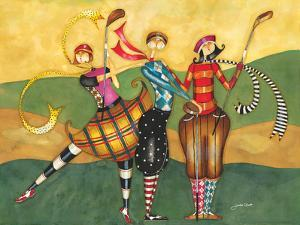 Golfing Girls by Jennifer Garant