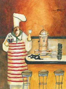 Luigi with Latte by Jennifer Garant