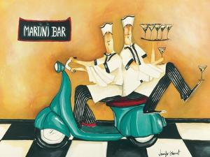 Martini Bar by Jennifer Garant
