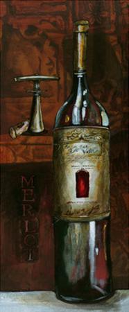 Old World Merlot by Jennifer Garant